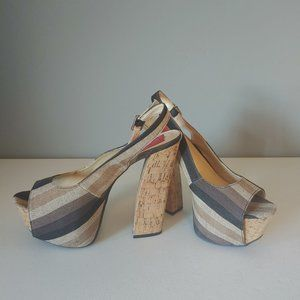 "FRH Platform Shoes ""EUC"""